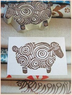 Sheep Stamp
