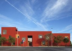 Primary school by C+S Architects features a colourful facade