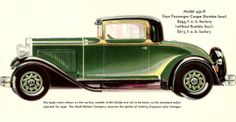 "1930 Nash ""400"" 4-Passenger Coupe (rumble seat)"