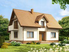 DOM.PL™ - Projekt domu ARN Tiramisu CE - DOM RS1-41 - gotowy projekt domu