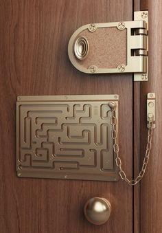 Labyrinth Security Lock