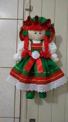 Baby Knitting Patterns, Doll Patterns, My Child Doll, Diy And Crafts, Arts And Crafts, Christmas Scenes, Sewing Toys, Soft Dolls, Fabric Dolls