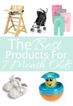 The Best Products For 7 Month Olds 7 Month Old Baby, 7 Month Olds, Sleep Schedule, 7 Months, Christian Parenting, Baby Essentials, Baby Birthday, Mom Blogs, New Moms