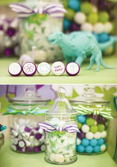 Darling Dino Girly Dinosaur Birthday Party