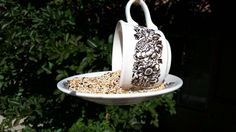 Hey, I found this really awesome Etsy listing at https://www.etsy.com/listing/233190551/vintage-teacup-bird-feederoutdoors