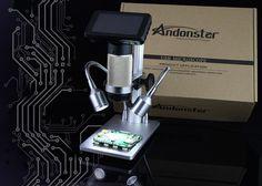 Andonstar HDMI microscope 1080P soldering digital long object distance