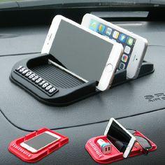 Nouveau Universel De Voiture Tableau de Bord Anti Slip Mat Non-slip Pad Pour Téléphone Cellulaire Clé Iphone Smart Mobile téléphone Parking GPS Titulaires