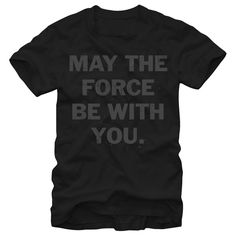 MAY THE FORCE BE WITH YOU - STAR WARS T-SHIRT - https://www.sunfrog.com/6918356-89058813.html?68704