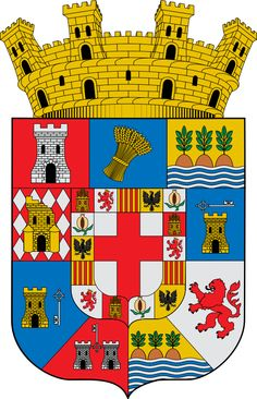 Escudo de la Provincia de Almería - España La provincia de Almería es una provincia española de la comunidad autónoma de Andalucía, situada en el sureste de la Península Ibérica. Limita con las provincias de Granada al oeste y Murcia al norte, así como con el Mar Mediterráneo al sur (parte conocida como mar de Alborán) y oeste. La capital de la provincia es la ciudad de Almería, situada al sur de la provincia y en el centro de la bahía homónima.