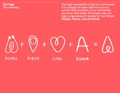 AirBnB's mission statement revolves around the idea of belonging anywhere and having a home away from home. Their tone of voice is informa. Brand Guidelines Design, Logo Guidelines, Brand Identity Design, Branding Design, Logo Design, Graphic Design, Brochure Design, Design Design, Startup Branding