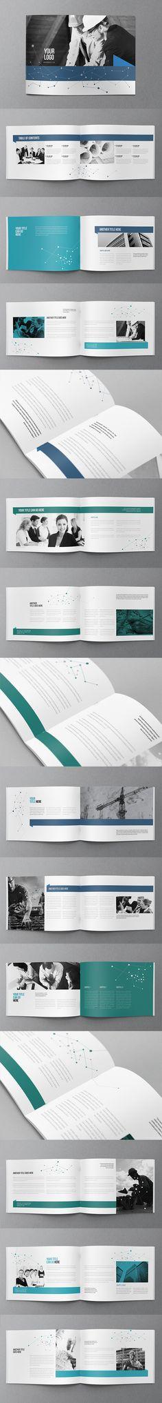 Modern Blue Business Brochure. Download here: http://graphicriver.net/item/modern-blue-business-brochure/10823477?ref=abradesign #brochure #design