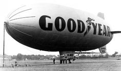 old images of the good year blimp Goodyear Blimp, The O'jays, Old Images, Back In The Day, Aviation, Good Things, Tattoo Ideas, Aircraft, Spaces