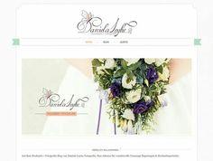 Website für ein Hochzeits•Fotografie Blog ... ♡