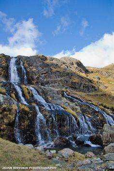 Levers Waterfall, Coniston, the Lake District, Cumbria