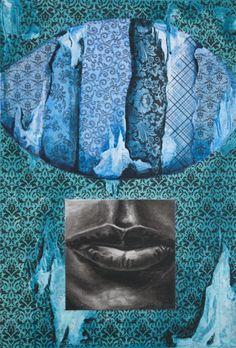 Totem (Blue Green)  JBarberStudio - Weekly Art - Week12