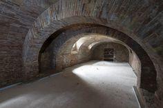 The future wine cellar in Sant'Anna dei Bricchetti