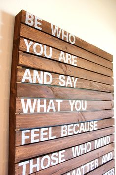 Rustic Wood :: Be Who You Are....