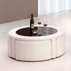 coffee table with stools | Coffee Tables - Modern, Contemporary, Wood, Metal, Glass