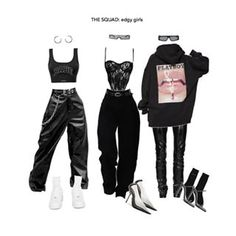 got milk?🍼 Pick a Saturday outfit This creamy set features some clothing by - swipe to see which. Kpop Fashion Outfits, Stage Outfits, Edgy Outfits, Mode Outfits, Retro Outfits, Grunge Outfits, Dance Outfits, Cute Casual Outfits, Formal Outfits