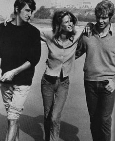 Beach Life. Sam Waterston, Charlotte Rampling, and Robie Porter, 1969.
