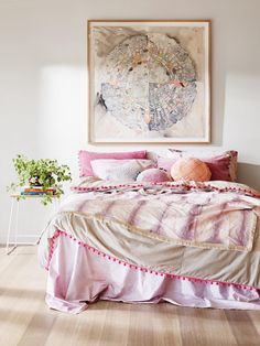 Pink dyed bedding, rag paper artwork, stitched cushions and mandalas are just some of the reasons we can't get enough of Lumiere Art & Co's latest collection. See it all by clicking through to the blog >>>
