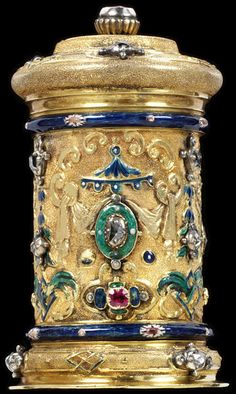 johann melchior dinglinger | Masterpiece of the Day: The Dinglinger Box, 1705