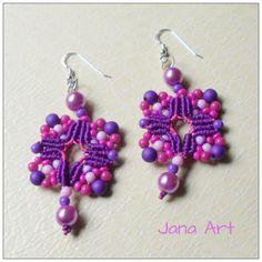 Earrings made upon request.  http://facebook.com/artelien