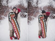 boise winter snow engagement