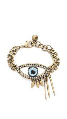 lulu frost evil eye bracelet - love.