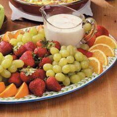 Fresh Fruit Dip