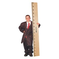 Giant Metric Ruler!
