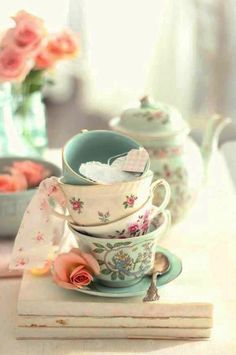 Just beautiful teacups!