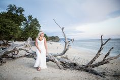 Lombok - Gili Terawangan Wedding Amazing Photos, Cool Photos, Brooke Adams, Gili Trawangan, Lombok, White Dress, Sunset, Fun, Wedding