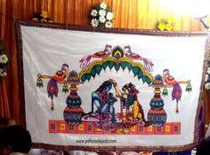 Order Cloth Addutera from Pellipoolajada Wedding Entrance, Wedding Mandap, Entrance Decor, Wedding Crafts, Diy Wedding, Wedding Events, Indian Wedding Decorations, Flower Decorations, Flower Garland Wedding