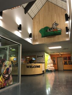 Lobby at Creature Comforts Pet Resort Tonawanda,NY. Lobby at Creature Comforts . - Doggie Day Camp - Lobby at Creature Comforts Pet Resort Tonawanda,NY. Lobby at Creature Comforts Pet Resort Tonawanda - Dog Boarding Kennels, Pet Boarding, Bushcraft Camping, Indoor Dog Park, Canis, Luxury Dog Kennels, Dog Kennel Designs, Shelter Design, Pet Hotel