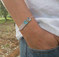 Noir bracelet bracelet noir noir et or bracelet délicat