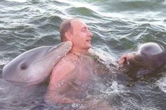 プーチンとイルカ