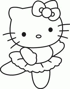kitty - Printable Pictures For Kids