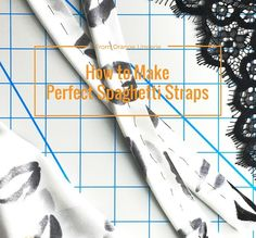 How to Make Perfect Spaghetti Straps - Orange Lingerie - New Ideas