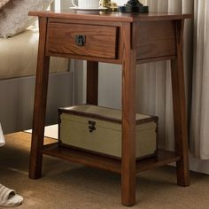 Found it at Wayfair - El Cerrito Mission Style 1 Drawer Nightstand