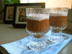 Suklainen mokkavanukas chiasta.