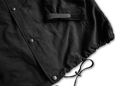 Patta Nylon Logo Coach Jacket (Black) - PATTA TRACKSUIT COLLECTION - COLLECTIONS