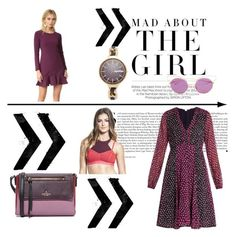 """""""The third geration"""" by cate-jennifer ❤ liked on Polyvore featuring Kershaw, Diane Von Furstenberg, Shoshanna, Kate Spade, Free People, Dita and RumbaTime"""