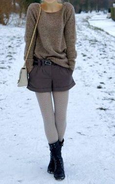 Oversize shorts with