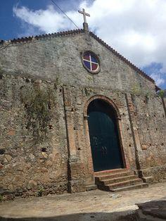 Vieja Iglesia colonial en Guanaguana. Estado Monagas,Venezuela.