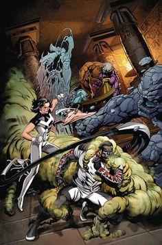 Sexualization in the comic book universe