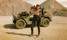 DIY this Furiosa Costume from Mad Max for Halloween. It's sure to impress your friends and is a great costume idea for 2015!