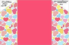 Dia dos Namorados – Kit Completo com molduras para convites, rótulos para guloseimas, lembrancinhas e imagens! |Fazendo a Nossa Festa