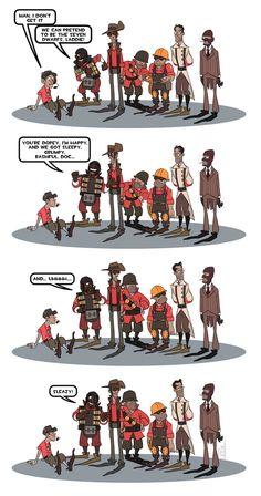 Funny Relatable Memes, Funny Jokes, Team Fortress 2 Medic, Valve Games, Tf2 Memes, Team Fortess 2, Red Vs Blue, Random Stuff, Cool Stuff