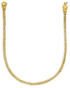 A Greek gold necklace, circa late 4th century BC.